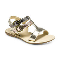 Stride Rite Girls' Baby Aria Casual Sandals - Gold/Bronze