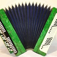 Tula Etude 100 Bass Button Accordion, Russian Tul'skij Bayan Jetjud 210