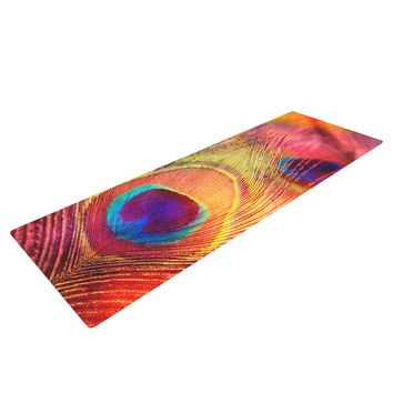 "Sylvia Cook ""Peacock Feather"" Yoga Mat"