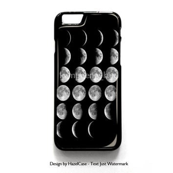 Moon Phases for iPhone 4 4S 5 5S 5C 6 6 Plus , iPod Touch 4 5  , Samsung Galaxy S3 S4 S5 Note 3 Note 4 , and HTC One X M7 M8 Case Cover