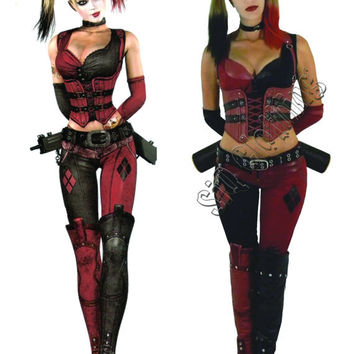best harley quinn costume etsy products on wanelo