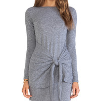 DeLacy Drew Dress in Gray