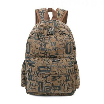 Shoulder School Bag Travel Women Men Backpack Satchel Rucksack Unisex New