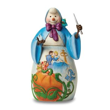 Disney Traditions Jim Shore Cinderella Snowman Figurine