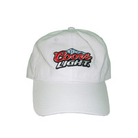 Vintage Culture Coors Light Patched Dad Hat In White