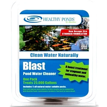 Bioverse Healthy Ponds Blast Organic Pond Algae Cleaner 5 Pack - Treats 125,000 Gallons