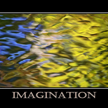 Imagination Inspirational Motivational Poster Art Print
