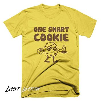 One Smart Cookie T Shirt Funny Food T Shirt Science Math T Shirt Gifts For Geeks Mens T Shirt Ladies TShirt Chocolate Chip Cookie T Shirt