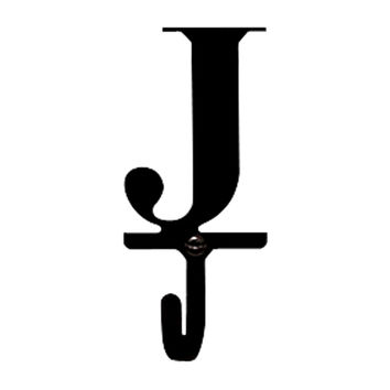 Letter J - Wall Hook Small