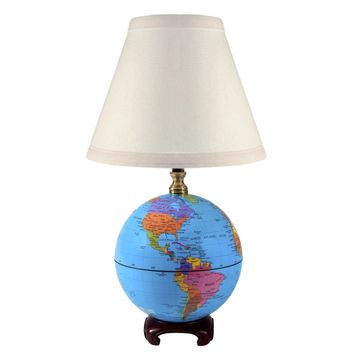 Vintage World Globe Lamp