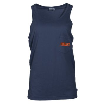 Official NCAA Hobart and William Smith Colleges Women's Tonal Pocket Tank Top