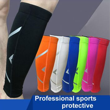 1PC Men Women Base Layer Compression Legs Sleeve Shin Guard Cycling Leg Warmers Running Football Basketball Sports Calf Support