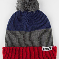 Neff Snappy Beanie Red Combo One Size For Men 26589134901
