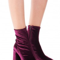 Jeffrey Campbell Shoes CIENEGA-LO New Arrivals in Wine