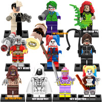 Kids Toys Super Heroes Gambit White Deadpool NICK FURY Minifigure Building Block Brick Toy shopkins pokemon Compatible With Lego