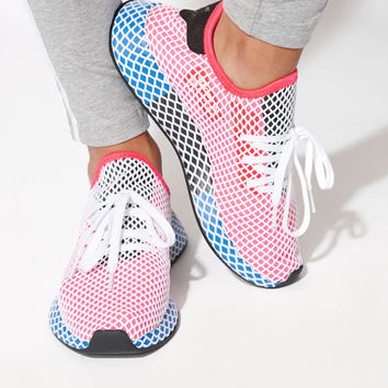 adidas Women's Red Deerupt Runner Sneakers at PacSun.com - red | PacSun