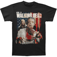 Walking Dead Men's  Zombie T-shirt Black Rockabilia