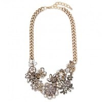 Floral Rosay Necklace - Necklaces