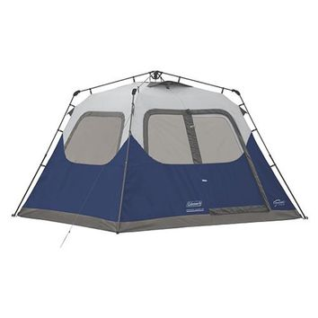 Coleman 6-Person 10u0027 x 9u0027 Instant Cabin Family C&ing Tent w/  sc 1 st  Wanelo & Best Family Tents Products on Wanelo