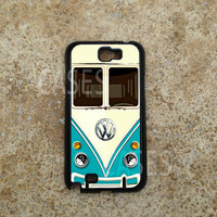 Samsung Galaxy Note 2 Case, Volkswagen Minibus Teal Galaxy Note Cases, New Cool Note 2 Cover