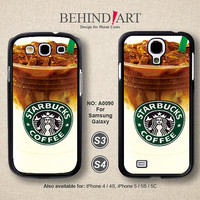 Samsung Galaxy S4 case, Samsung Galaxy S3 case, Phone Cases, Phone Covers, Skins, Case for Samsung, Starbucks Coffe-A0090