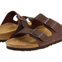 Birkenstock Arizona Sandals flip flops Habana Oiled Leather