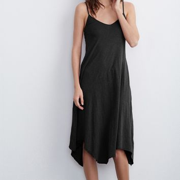 TIGERLILY COTTON SLUB ASYMMETRICAL CAMI DRESS - Dresses - Women