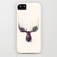 Moose iPhone Case by Amy Hamilton