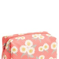 Lulu Daisy Print Cosmetic Bag (Juniors)