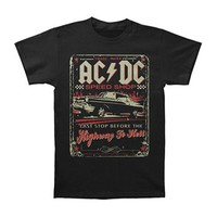 AC/DC Men's  ACDC Speed Shop T-shirt Black
