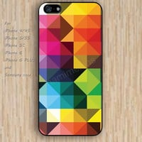 iPhone 6 case irregular geometry colorful iphone case,ipod case,samsung galaxy case available plastic rubber case waterproof B121