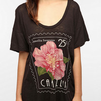 Truly Madly Deeply Camellia Stamp Tee