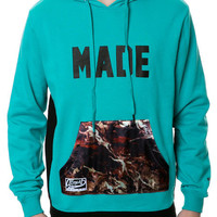 THE DAMNED HOODIE IN TEAL