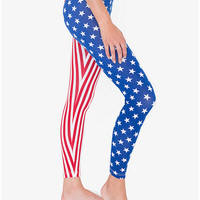 Print Cotton Spandex Jersey Legging | American Apparel