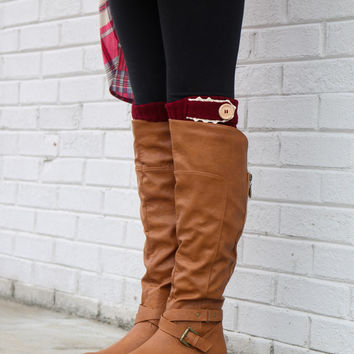 Welcome To The Badlands Whiskey Equestrian Boot With Buckle Details