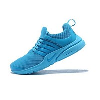 Nike Air Presto Fashion Women Men Comfortable Breathable Sport Running Shoe Sneakers Blue I