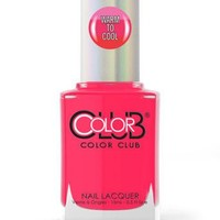 Color Club Mood Change Nail Polish LS46 It's a sauna out there