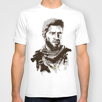 Uncharted 3 T-shirt by James Brunner