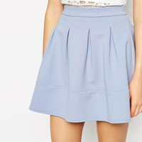 ASOS Full Textured Skater Skirt