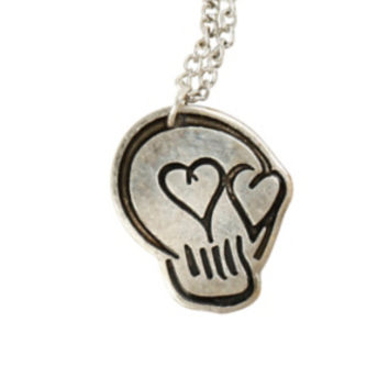 5 Seconds Of Summer Skull Heart Necklace