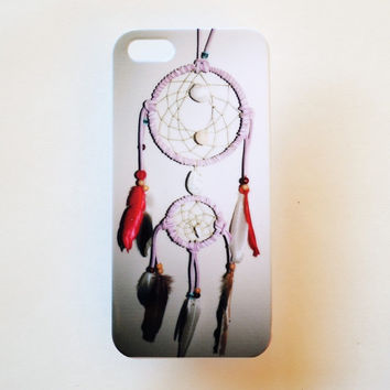 iPhone 5 Case Cover Dreamcatcher Tribal iPhone 5s Hard Native American Back Cover For iPhone 5 Slim Design Case