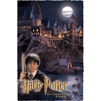 HARRY POTTER POSTER Philosopher's Stone RARE NEW 1218
