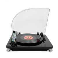 ION iLP Digital Conversion Turntable for iPhone, iPad and iPod touch with Conversion Software