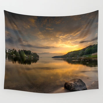 Serenity by dawn Wall Tapestry by HappyMelvin