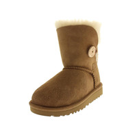 Ugg Australia Bailey Button Suede Lined Casual Boots