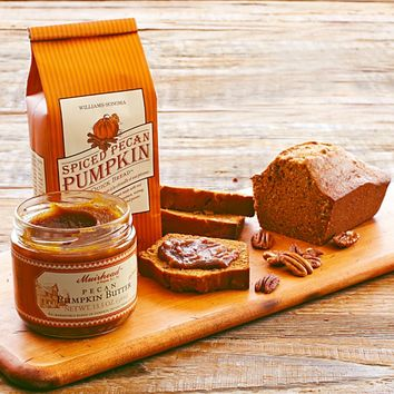 Williams-Sonoma Spiced Pecan Pumpkin Quick Bread Mix & Pecan Pumpkin Butter Set