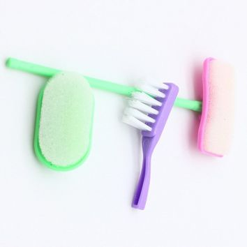 Doll Household Goods Toy for Pretend Goods Kit Girls Broom House High Quality  Accessories House Cleaning Mop Broom Tools House