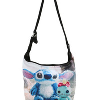 Disney Lilo & Stitch Scrump Photo Hobo Bag