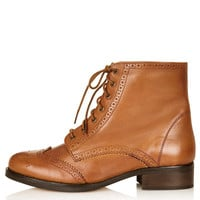 AMALIA Lace Up Brogue - New In This Week - New In - Topshop USA
