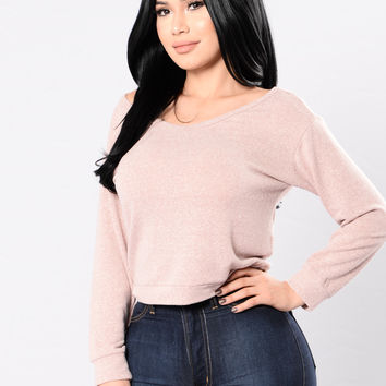 Hopelessly Devoted Top - Blush